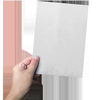 ulotka A5, różne rodzaje papierów
