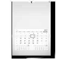 Kalendarz A3 jednodzielny