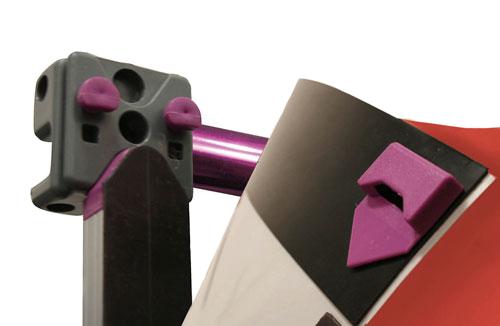 baner mocowany systemem magnetycznym
