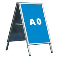 potykacz reklamowy formatu A0