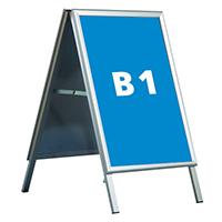 potykacz dwustronny na plakaty B1