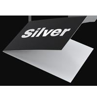 srebrzenie wizytówki składane